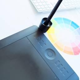 Grafische tablet wacom ontwerp design